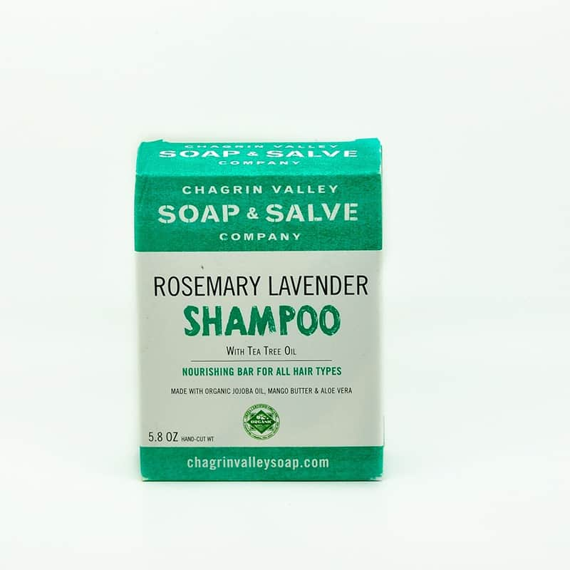 Chagrin Valley Natural Rosemary Lavender Shampoo Bar 5 8 oz